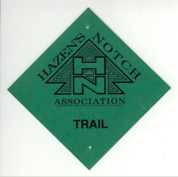 HNA Trail Marker - Designed by Peter Vercelli - Architect